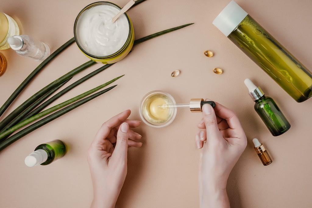 huile végétale beauté des mains